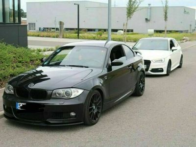 gebraucht BMW 123 Coupé E82 d// M Paket ab Werk // TÜV Neu ... als Sportwagen/ in Herbertingen