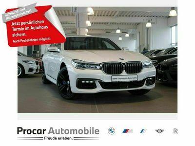 gebraucht BMW 750L d xDrive M-Sport DA+ H/K AHK HuD StandHz GSD als Limousine in Hagen-Hohen