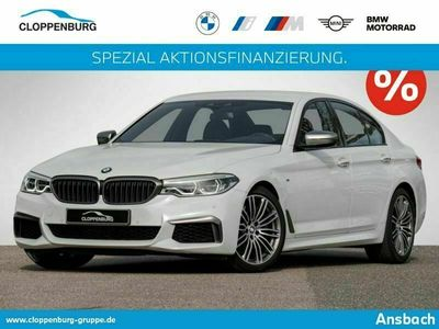 gebraucht BMW M550 550 i xDrive Limousine LED Navi Bus. AHK Shz -