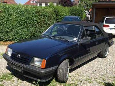 gebraucht Opel Ascona Cabrio H-Kenzeichen
