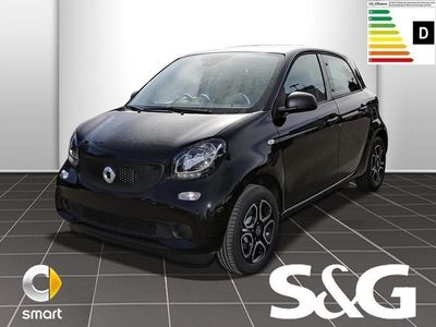 gebraucht Smart ForFour 66kW turbo twin/Cool&Audio/15/Tempomat/