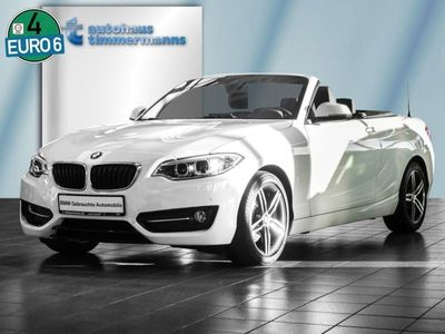 gebraucht BMW 220 i Cabrio Sport Line Aut. Navi Xenon HiFi
