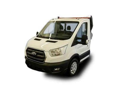 gebraucht Ford Transit Trend 350 L2 Pritsche AHK Ganzjahresreifen