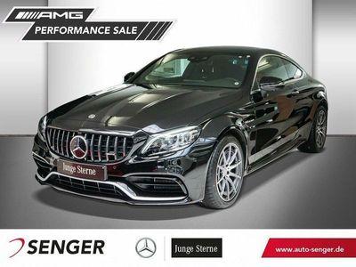 gebraucht Mercedes C63 AMG Mercedes-AMGCoupe+COMAND+360°KAMERA+PANO
