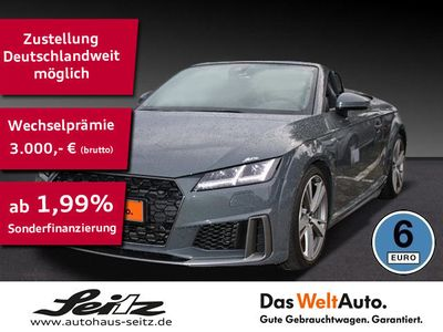 gebraucht Audi TT Roadster 45 TFSI quattro Sline LED,B+O,Navi,
