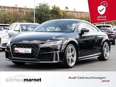 gebraucht Audi TT Coupé 45 TFSI quattro S line Navi LED Tempomat Sit