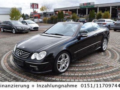 gebraucht Mercedes CLK320 Cabrio Avantgarde AMG-Styling Leder,Navi