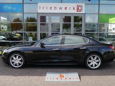 gebraucht Maserati Quattroporte D V6 -BRD-FZG-Ufrei-20 Zoll-ESD-nur 45 TKM-E6