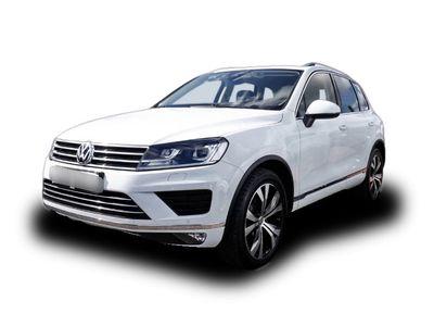 gebraucht VW Touareg 3.0 TDI Executive Edition Leder Navi AHK Klimasitze e-Sitze