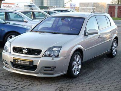 gebraucht Opel Signum 1.9 CDTI Cosmo Leder Navi Xenon SHZ PDC