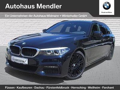gebraucht BMW 540 i xDrive Touring M Sportpaket WLAN Standhzg.