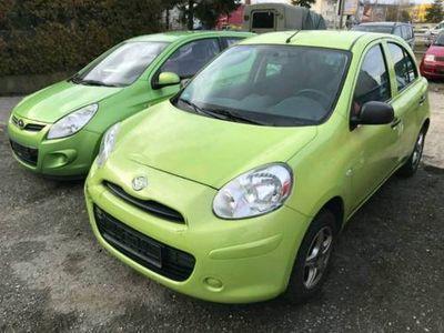käytetty Nissan Micra 1,2 L Benzin Klima und Euro 5