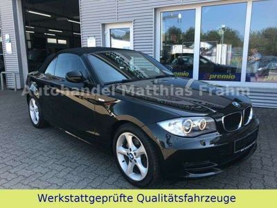 gebraucht BMW 120 Cabriolet i Aut. Leder XenonNavi elektr. Verdeck