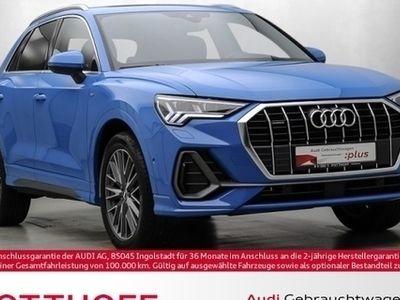 gebraucht Audi Q3 45 TFSi q. S-line Matrix DAB Kamera Pano Virt