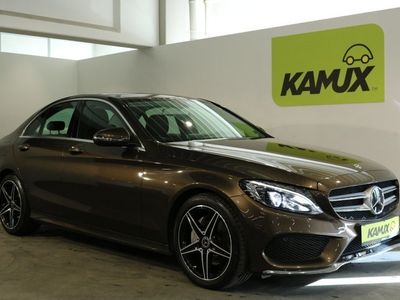 gebraucht Mercedes C200 CGI 9G-Aut. Business Edition C AMG-Line +LED +NAVI +DISTRONIC PLUS