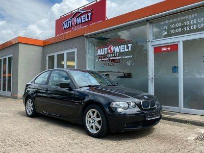 gebraucht BMW 320 Baureihe 3 Compact td Tüv 11/2020