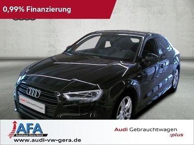 gebraucht Audi A3 Limousine 1,5 TFSI Sport S-Line,LED,Navi,opt.Schwarz