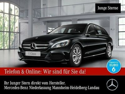 gebraucht Mercedes C400 T 4M Avantgarde Pano LED Navi PTS Easy-Pack