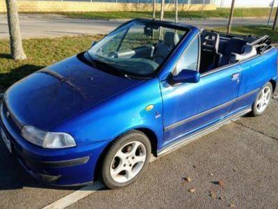 gebraucht Fiat Punto Cabriolet ELX 1.6