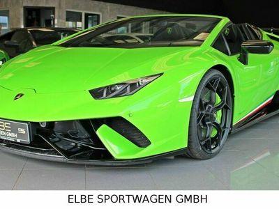 gebraucht Lamborghini Huracán Performante Spyder VERDE MANTS LIFT SENS als Cabrio/Roadster in Seevetal bei Hamburg