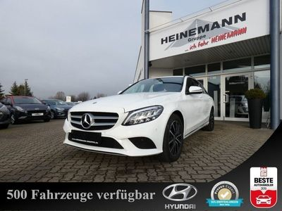 gebraucht Mercedes C220 d T 9G-TRONIC *Navi Leder LED Keyless SHZ*