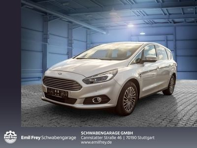 gebraucht Ford S-MAX 2.0 EcoBlue Aut. Titanium LED Navi AHK