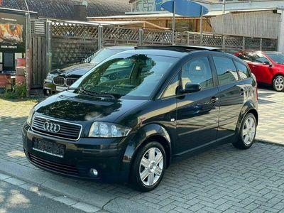 gebraucht Audi A2 1.6 FSI Panorama Klima 1 Hand Scheckheft
