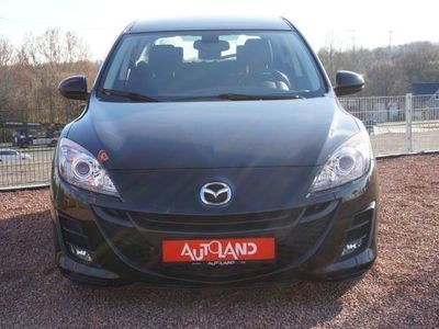 gebraucht Mazda 3 2.2 MZR-CD Exclusive-Line Navi Tempomat Sitzh. K