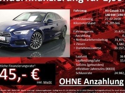 gebraucht Audi A5 Coupé 2.0 TDI Sport S tronic LED Navi VirtCockpit
