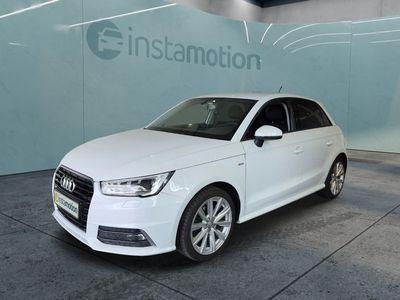 gebraucht Audi A1 Sportback A1 1.6 TDI S-Line Ext. admired Navi XenonGRA APS MMI Radio