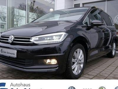 gebraucht VW Touran 1.4 TSI DSG Highline 7 Sitze LED Navi SHZ