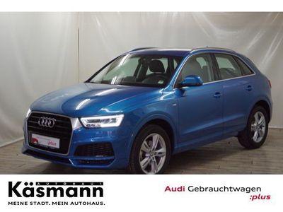 gebraucht Audi Q3 Sport 1.4 TSI S-LINE+AHK+LED+NAVI+GRA+PDC
