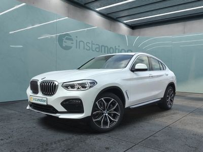 gebraucht BMW X4 X4xDrive30i M Sport X EU6d-T Park-Assistent Leder AD Kurvenlicht HUD Parklenkass.