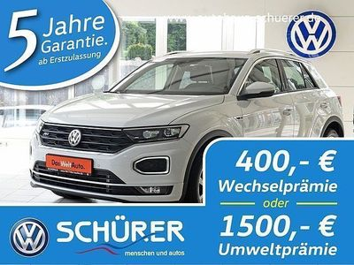 used VW T-Roc Style R-Line 2.0TDI DSG 4MOT Umweltprämie