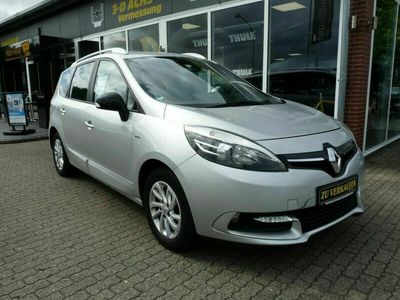 gebraucht Renault Scénic III Grand Limited*Navi*Climatic*7-Sitzer* als Van/Kleinbus in Heide