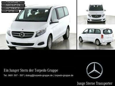 gebraucht Mercedes V220 KOMPAKT+TISCH+7-SITZE+KLIMA+7GTR+NAVI+SHZ