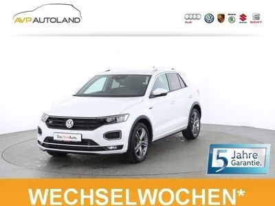 used VW T-Roc Sport R-Line 2.0 TSI BMT DSG 4MOTION +LED+ schwarz