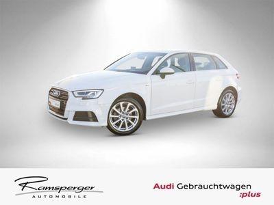 gebraucht Audi A3 Sportback 1.0 TFSI S line Navi LED EPH Sitzhz