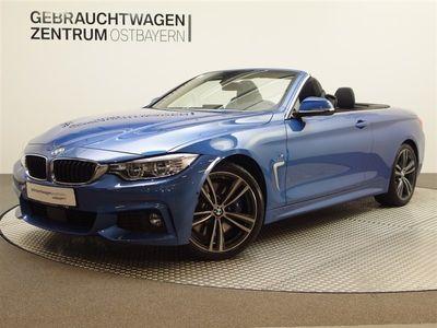 gebraucht BMW 430 i Cabrio Aut. M Sport Leder+Navi+adapt.Fw+LED