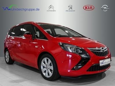 gebraucht Opel Zafira Tourer Innovaton+Leder+7Sitzer+Navi+BT