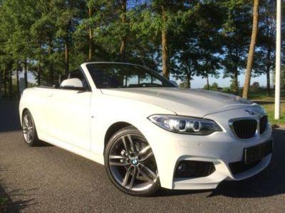 gebraucht BMW 220 d Cabrio SPORT-AUT.+M SPORTPAKET+KEYLESS+NAVi