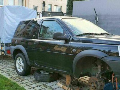 gebraucht Land Rover Freelander V6 Projektaufgabe