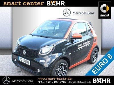 käytetty Smart ForTwo Cabrio 66 kW turbo Styling/Klima/BC/eFH.