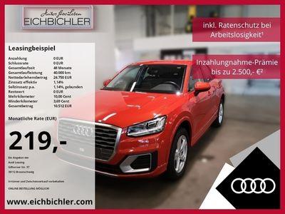 gebraucht Audi Q2 sport 30 TDI S tronic LED Automatik Sportsitze