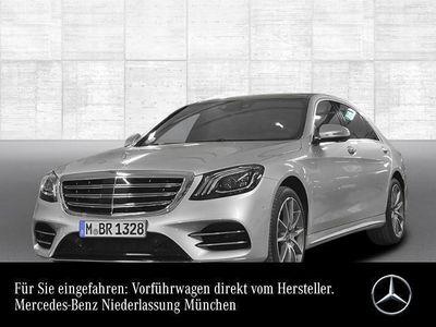 gebraucht Mercedes S560 L 4M AMG Fahrass Airmat Stdhzg Pano Sportpak