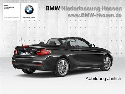 gebraucht BMW 218 d Cabrio M Sportpaket Navi FSE Komforttel. PDC HiF
