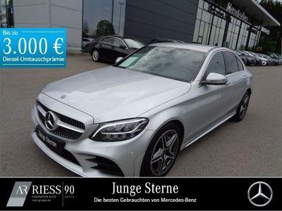 gebraucht Mercedes C300 d AMG Spiegel-P