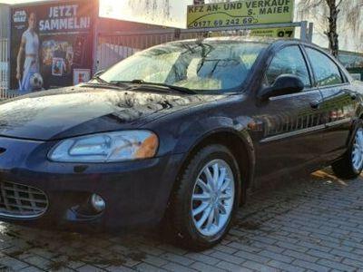 gebraucht Chrysler Sebring LX 2.7 Autom. Leder, Klima