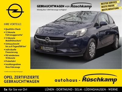 gebraucht Opel Corsa E Selection 1.2 RDC Klima ESP Seitenairb. ABS Servo