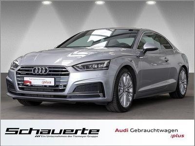 gebraucht Audi A5 Coupe 2.0 TFSI Q S Line LEDER PANO LED VIRTUAL